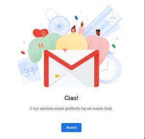 nuova posta elettronica gmail
