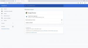 Chrome come vedere ultima versione
